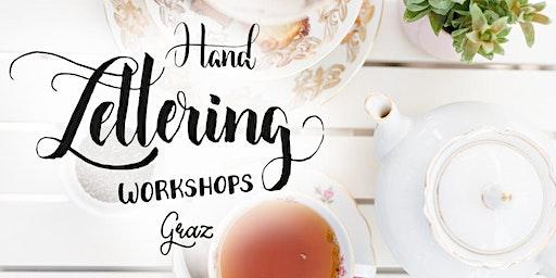 Brush Lettering und Tee - für Anfänger in Graz
