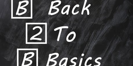 Financial planning: back to basics tickets
