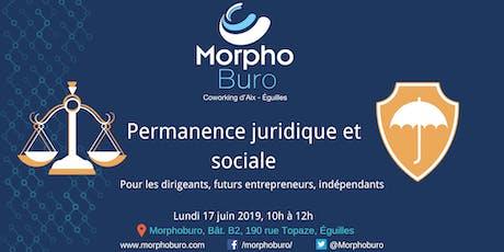 Morpho-Permanence Juridique et Sociale pour dirigeants, entrepreneurs, indépendants billets