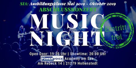 14. MUSIC NIGHT: SIA - ABSCHLUSSKONZERT Tickets