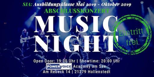 14. MUSIC NIGHT: SIA - ABSCHLUSSKONZERT