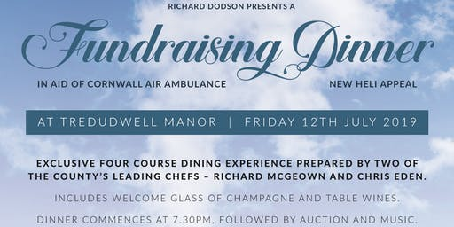 Fundraising Dinner at Tredudwell Manor