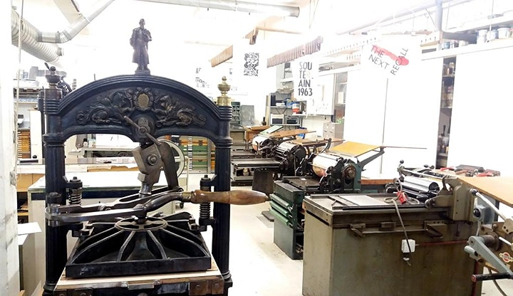 Craft in Focus: Print your own letterpress poster image