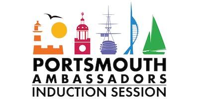 Portsmouth Ambassador Induction Session