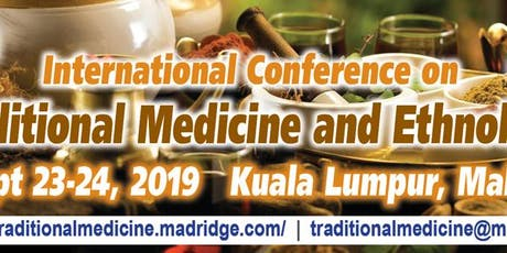 International Conference on Traditional Medicine and Ethnobotany tickets
