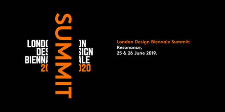 London Design Biennale Summit 2019 tickets