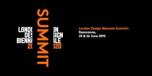 London Design Biennale Summit 2019