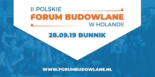 Drugie Polskie Forum Budowlane w Holandii