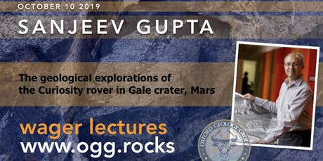 The geological explorations of the Curiosity rover in Gale crater, Mars tickets