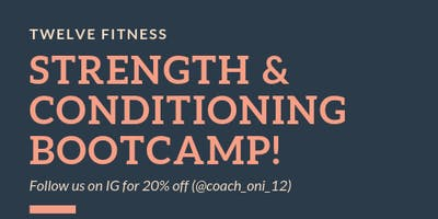 Strength and Conditioning Boot Camp