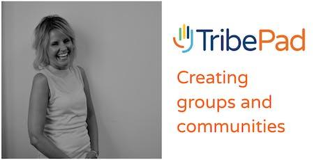 Creating Groups & Communities tickets