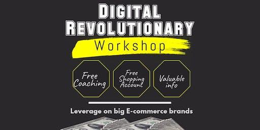 Asia First Digital Revolutionary  E-commerce Seminar (V-More)