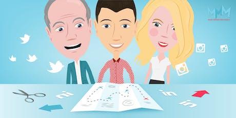 """Workshop """"Creëer je marketingplan in één dag"""" voor MKB ondernemers tickets"""