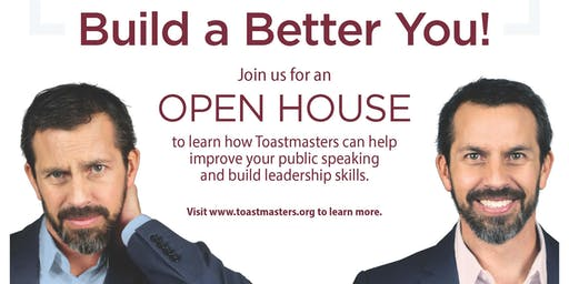 CrossWay Toastmasters OPEN HOUSE