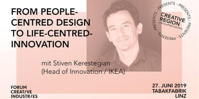 WORKSHOP: FROM PEOPLE-CENTRED DESIGN TO LIFE-CENTRED INNOVATION