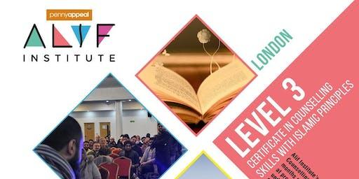 Alif Institute Islamic Counselling Level 3 London
