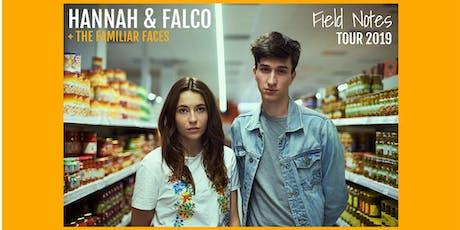 Hannah & Falco - München - zehner Tickets