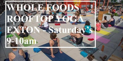 Roots2Rise Rooftop Yoga - Whole Foods Exton