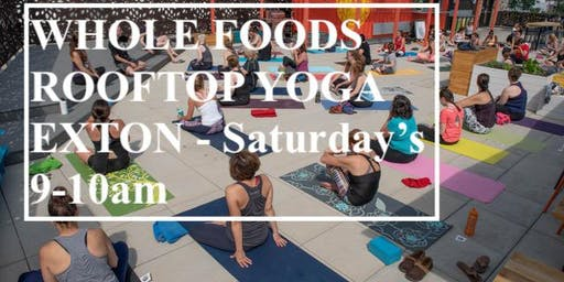 Rooftop Yoga - Whole Foods Exton
