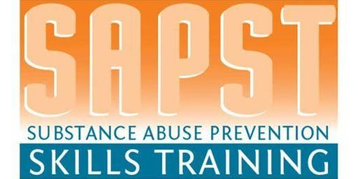 SAPST (Substance Abuse Prevention Skills Training) TRAINING