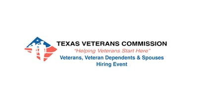 Military Hiring Event - Texas Harley Davidson/Texas Veterans Commission