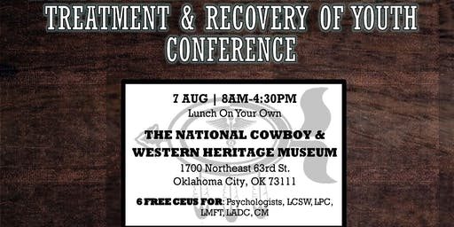 HOLISTIC HEALING IN SUBSTANCE USE TREATMENT & RECOVERY OF YOUTH CONFERENCE