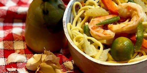PANCIT (Noodles) Filipino Cooking Workshop