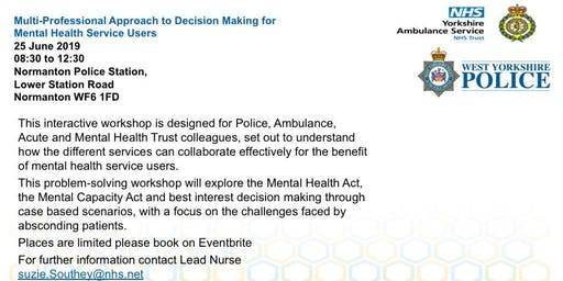 Multi-Professional Approach in Decision Making for Mental Health Service Users