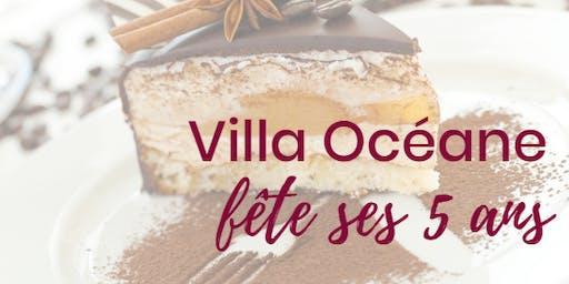 La Villa Océane fête ses 5 ans