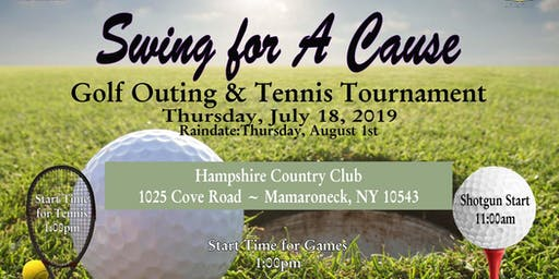 Violet Torch Foundation & Westchester Alphas Educational Foundation - Swing for a Cause 2019 - Golf Outing & Tennis Tournament