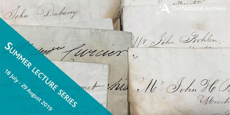 Written treasure: correspondence from captured ships, 1652-1815 tickets