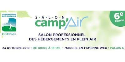 CAMP'AIR - salon professionnel des hébergements en plein air avec ECORISMO