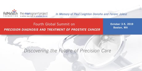 Fourth Global Summit on Precision Diagnosis and Treatment of Prostate Cancer  tickets