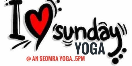 Sunday Evening Hatha Yoga w/ Dermot Ryan tickets