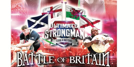 UK'S STRONGEST MAN TOUR - THE BATTLE OF BRITAIN