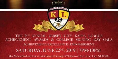 The 9th Annual Jersey City Kappa League Achievement Awards Gala