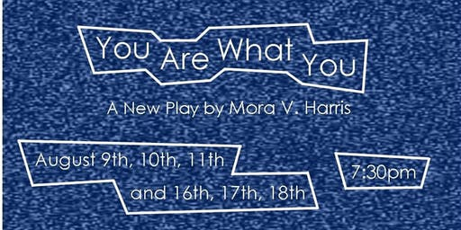 You Are What You - A New Play by Mora V. Harris