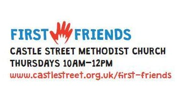 """First Friends"" playgroup for children aged 0-4 years with parent/carer 10am-12"