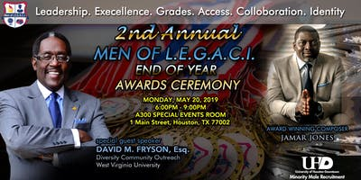 UH-Downtown '2nd Annual Men of L.E.G.A.C.I. End Of Year Awards Ceremony'