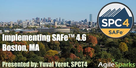 Implementing SAFe w/ SPC Certification - Boston, August 2020 tickets