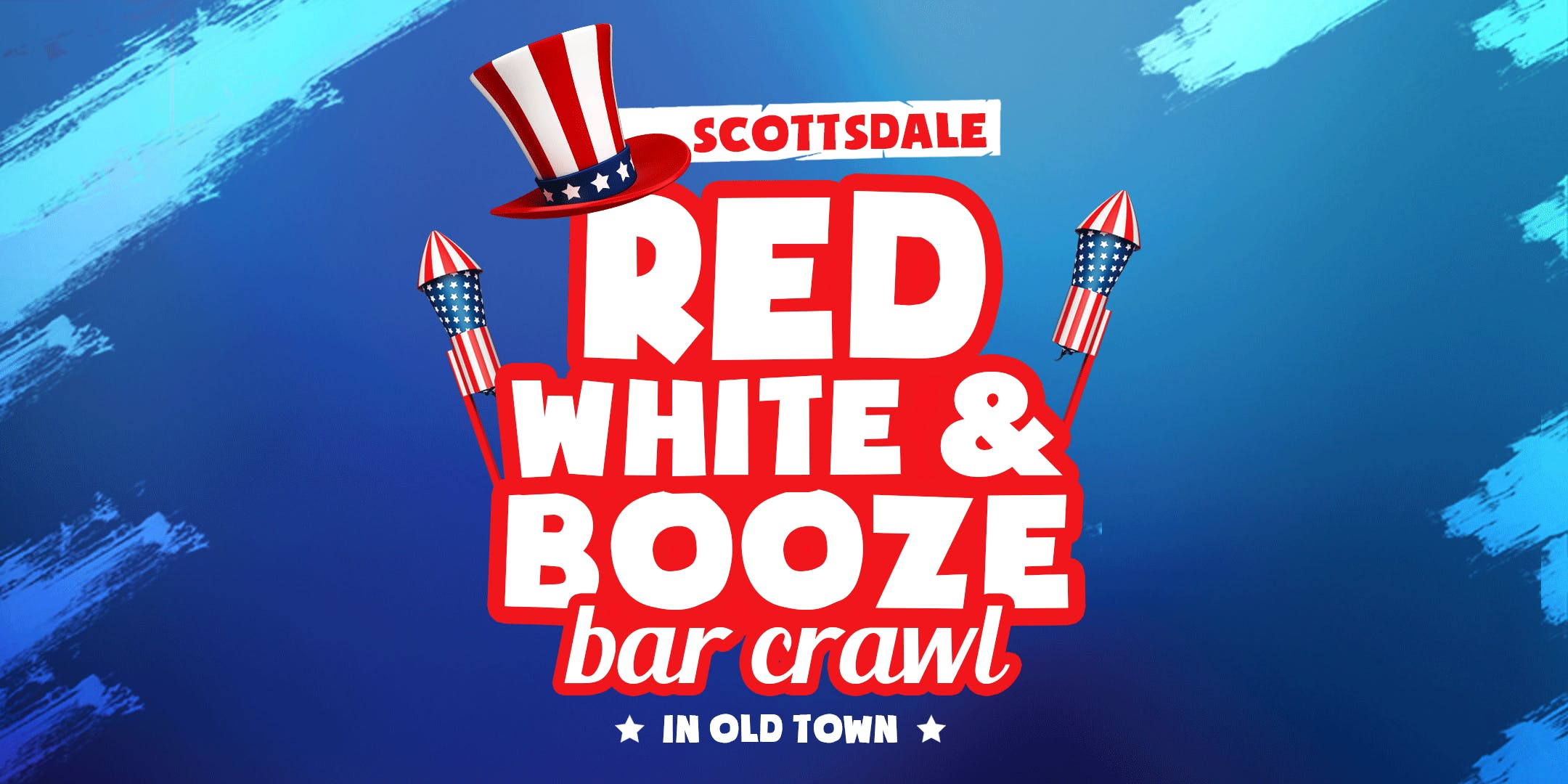 Red, White and Booze Bar Crawl in Old Town