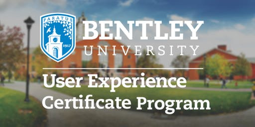 Information Session: Bentley User Experience Certificate Program