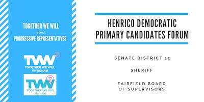 Henrico Democratic Primary Candidates Forum