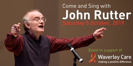 Come and Sing with John Rutter tickets