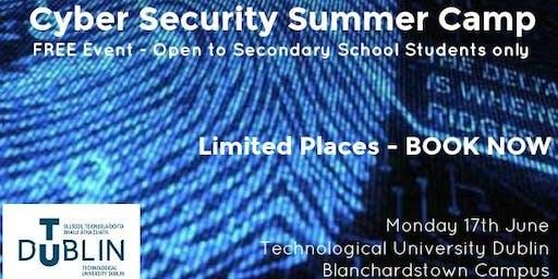 TU Dublin Cyber Security Summer Camp 2019 - FREE EVENT