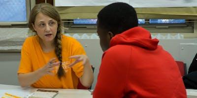 Art coach for downtown NYC public school literacy program (DLmt)