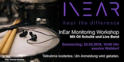 InEar Monitoring Workshop mit Live Band