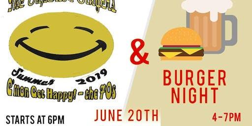 The Superior Singers & Burger Night - June