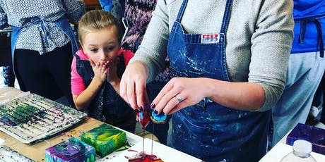 Childrens Liquid Glass Magnets; A Pouring Medium Workshop in Napanee tickets