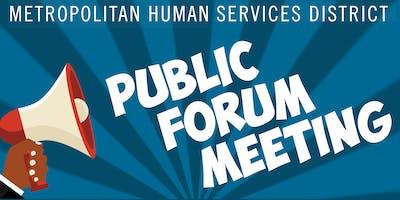 MHSD Public Forms